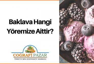 Dondurma Hangi Yöremize Aittir?